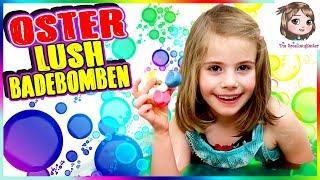 LUSH BADEBOMBEN CHALLENGE 🛀 OSTER EDITION - Eine Meerjungfrau mit Fidget Spinner geht baden! 😱