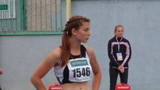 100 метрів, жінки, півфінал (чемпіонат України з легкої атлетики 2017)