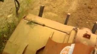 lamborghini c 553 con rotoripper due passate