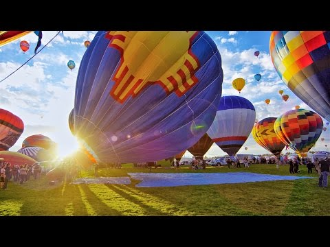 The World's Largest Hot Air Balloon Fiesta- In 4K