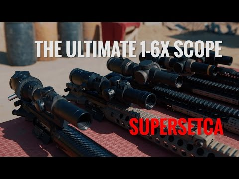 AR-15 The Ultimate 1-6X Scope