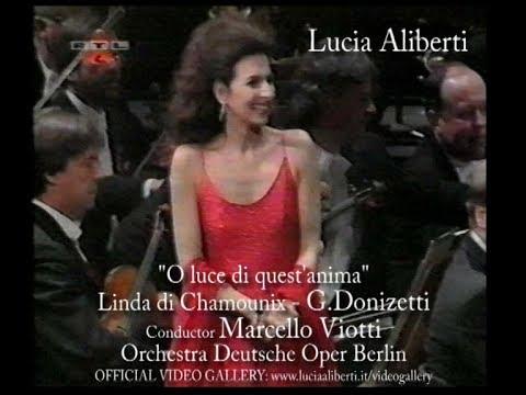 """Lucia Aliberti """"O luce di quest'anima""""Linda di Chamounix-G.Donizetti,Conductor Marcello Viotti"""