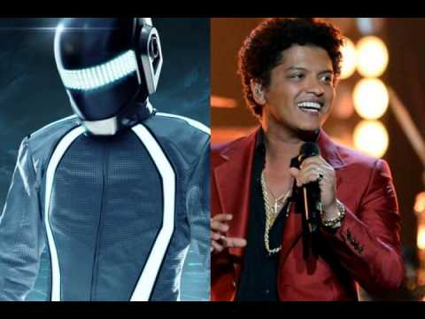 Bruno Mars vs Daft Punk - Get Treasure ( Mash-Up)