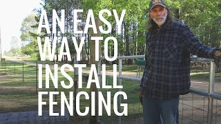 Field Fencing -- Creating Infrastructure