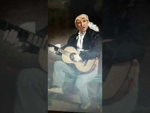 Art Commentary - Manet - The Spanish Singer - Artist Jose TRUJILL0