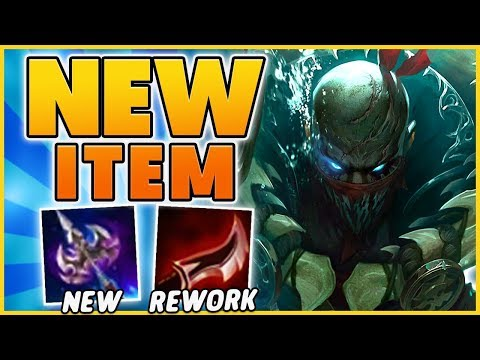 *LETHALITY REWORK* NEW ASSASSIN ITEMS (RIOT BROKE IT AGAIN) - BunnyFuFuu