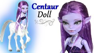 How to: Centaur Doll - Avea Trotter Doll Repaint Tutorial