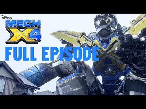 Let's Call It MECH-X4! | Full Episode | MECH-X4 | Disney XD
