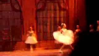 Ballet studio performance. Cinderella