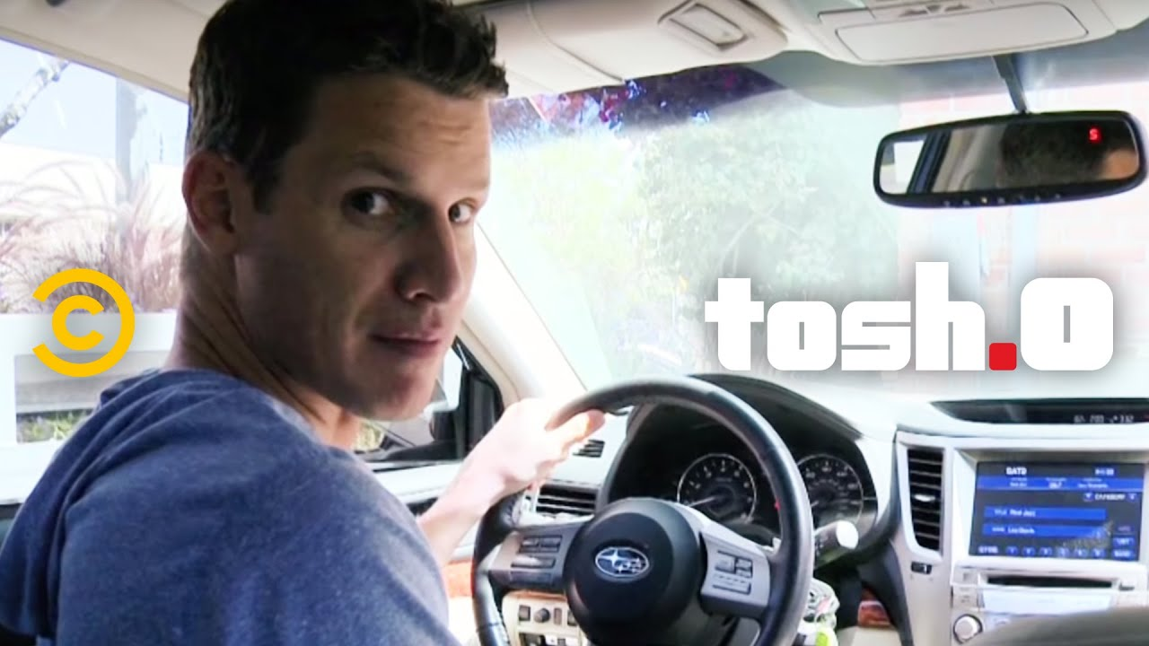 who is tosh o dating