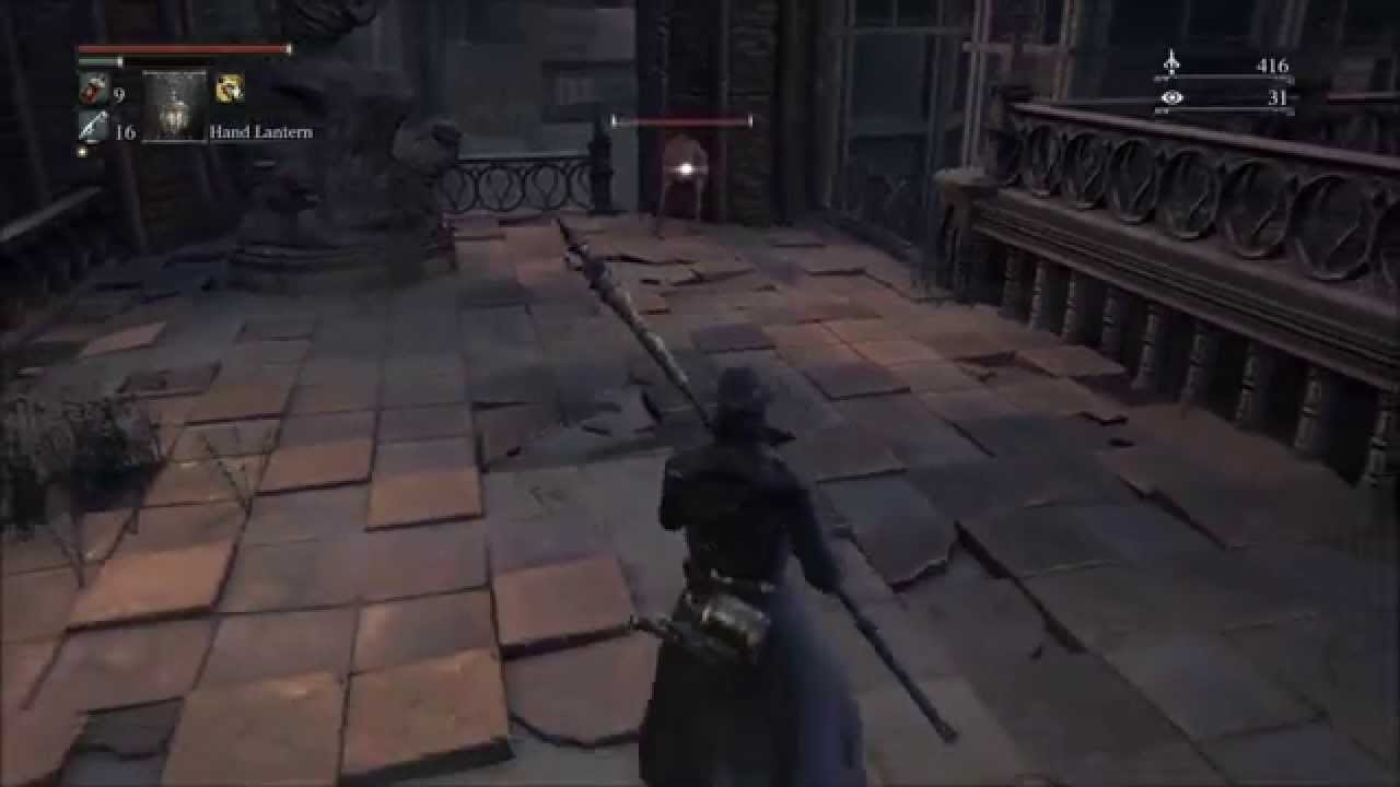 Bloodborne Defeat Bell Ringer Woman After the Second Lamp Save ...