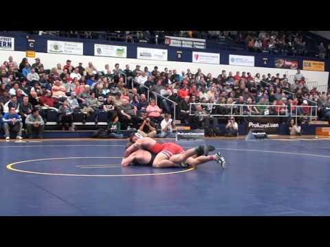165 m, Cody Burcher, OSU vs John Vaughn, CSU