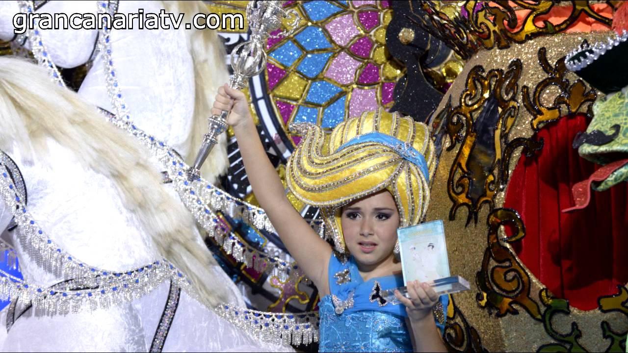 Fotos reina infantil carnaval las palmas de gran canaria 2016 youtube - Gran canaria tv com ...