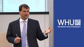 Brexit und Europa | Vortrag von Prof. Dr. Markus Rudolf | WHU