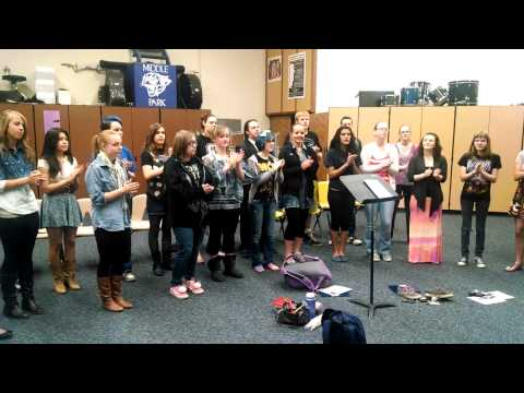 Gate - Middle Park High School Concert Choir - Granby, Colorado