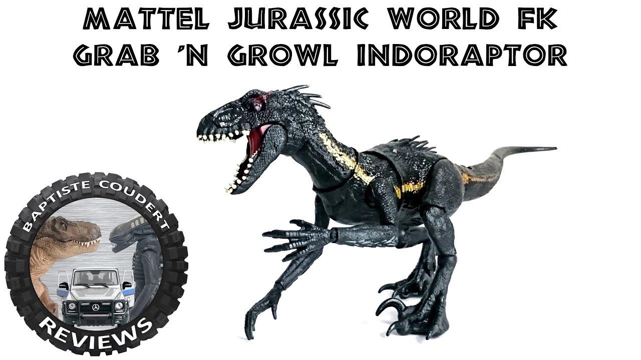 Mattel Jurassic World Dino Rivaux détruire N dévorer indominus Rex T-Rex Toy