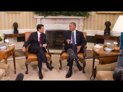 Obama and Mexico President discuss 'unbreakable...