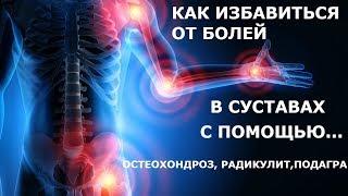 КАК ВЫЛЕЧИТЬ АРТРИТЫ.РАДИКУЛИТ,ОСТЕОХОНДРОЗ,ПОДАГРУ при помощи сирени Питание при болезнях суставов