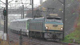 東京メトロ日比谷線13000系 甲種輸送 東戸塚駅
