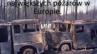 Pożar Lasu Kuźnia Raciborska - 26 sierpień 1992.   W 26 Rocznicę
