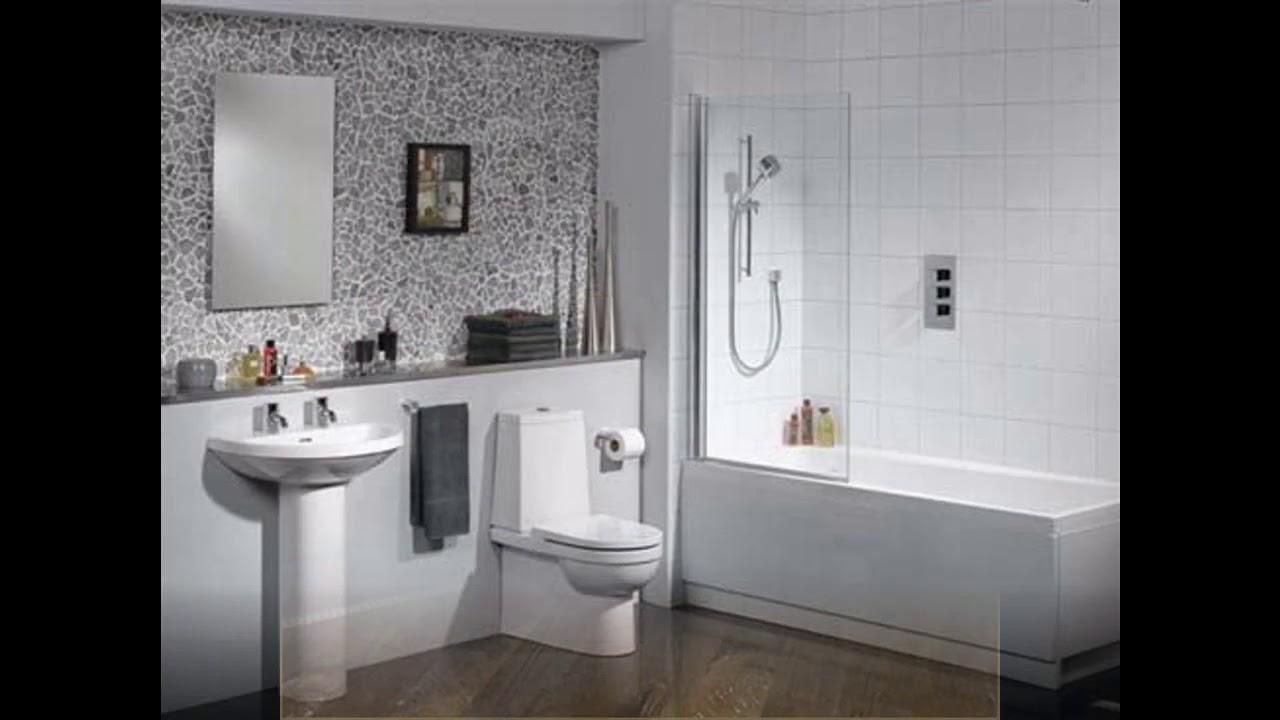 Peque as ideas para azulejos de piso de ba o para el mejor dise o de la casa youtube Disenos de banos para casas pequenas