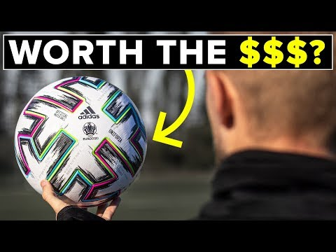Why the EURO20 ball is expensive | adidas Uniforia review