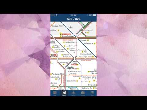 Berlin Offline Travel Map App