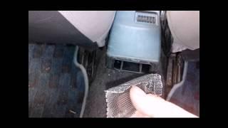 замена обдува ног, Замена пепельницы ваз 2110