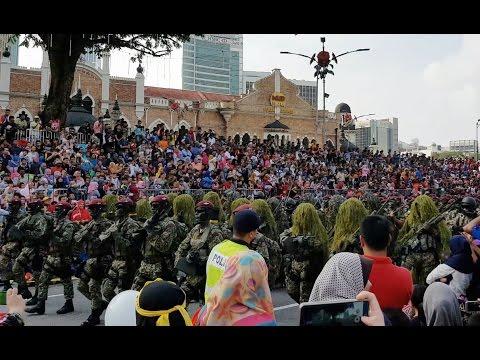Malaysia National Day Parade 2016. Hari Merdeka ke 59th. (4K UHD) part 2/2