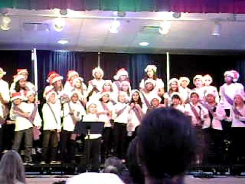 Pandora's Dunedin Elementary School Chorus concert December 16th 2010 part 4