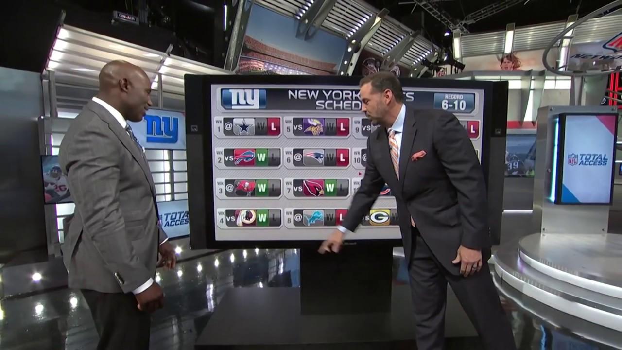 Shaun O'Hara predicts Giants 2019 schedule