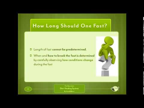 Fasting Overview Of Lesson 19 In Arnold Ehrets Mucusless Diet 2