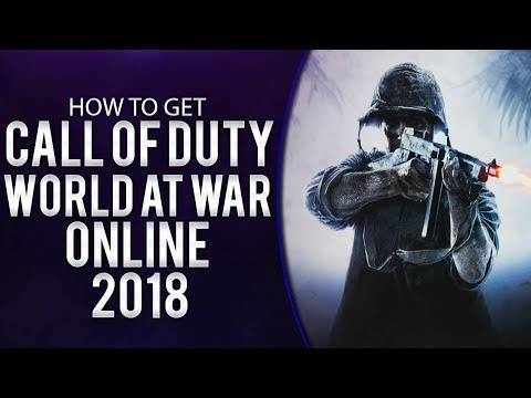 How To Play Call Of Duty : World At War Multiplayer/Zombies/SinglePlayer + DLC