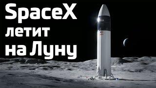 Почему NASA выбрало SpaceX для полётов на Луну. Анализ программы Human Landing System