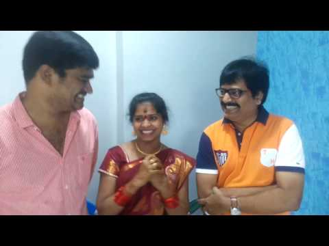 Actor Vivek @ Madhumitha Home Blessing her For New Built House ( Nov.13th 2016)