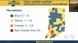 Indiana releases new COVID-19 county maps