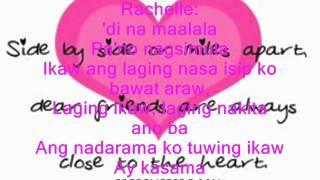 pag-ibig na kaya rachelle ann go and christian bautista / lyrics