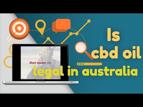 Is Cbd Oil Legal In Australia🤓🍃