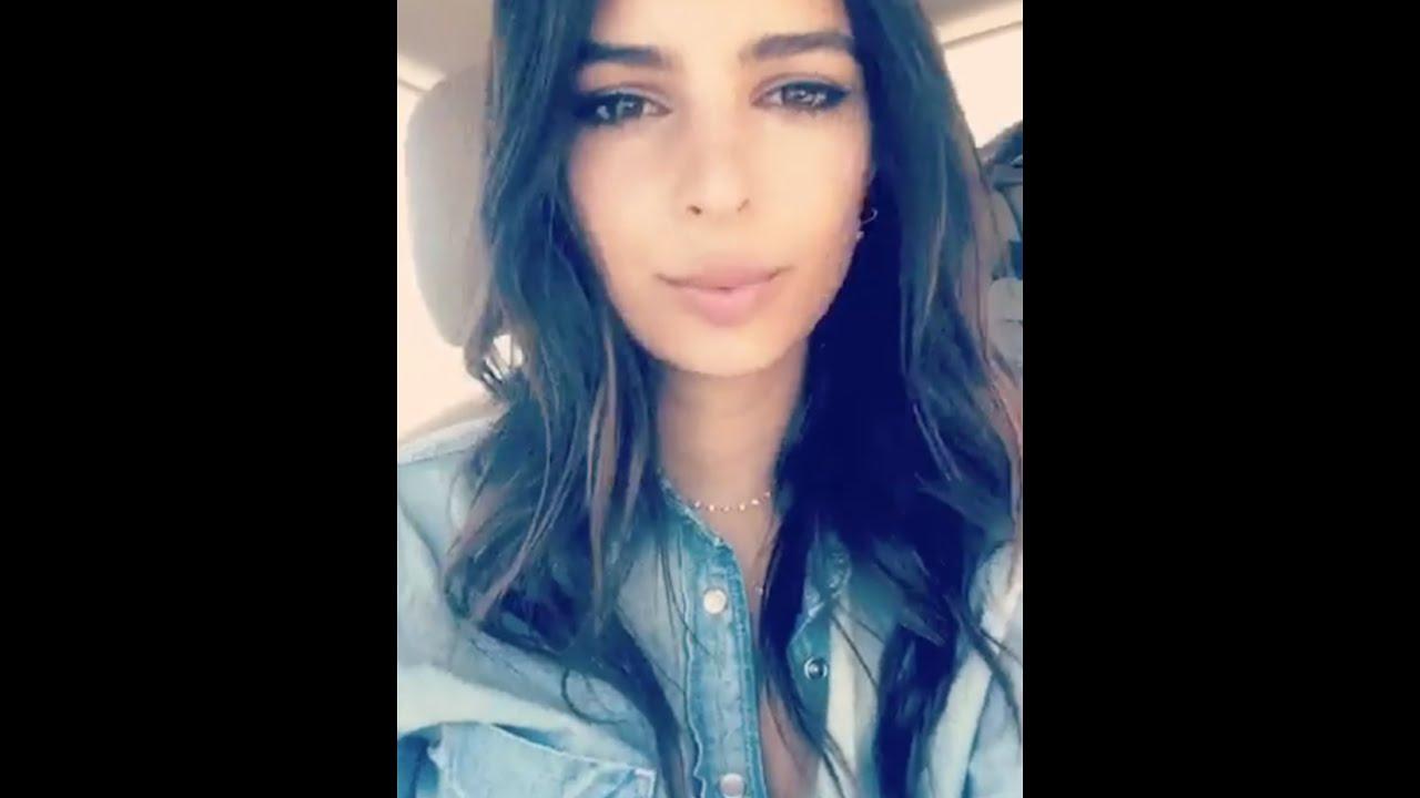 Emily Ratajkowski | Snapchat Videos | July 6th 2016 - YouTube
