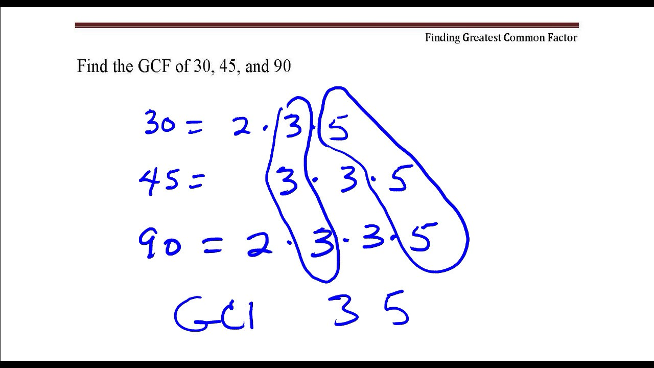 what are the whole number factors of 30