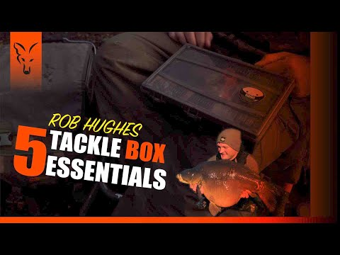 ***CARP FISHING TV*** Rob Hughes 5 Tackle Box Essentials