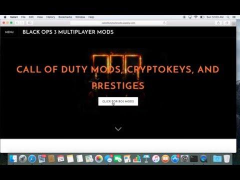 Black Ops 3 Unlimited Cryptokeys + Mod Menu + Level 1000