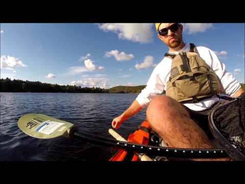 Oxbow Lake Kayak Fishing