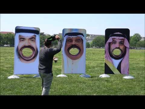 د.أسامة فوزي # 754 - قبلنا التحدي رغم انوفهم ... وتظاهرنا امام البيت الابيض