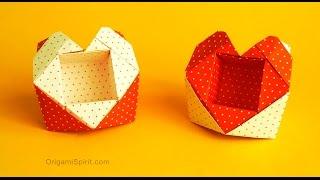 Origami Valentine Heart-Box