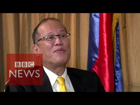 Dispute with China & corruption: President Benigno Aquino interview - BBC News
