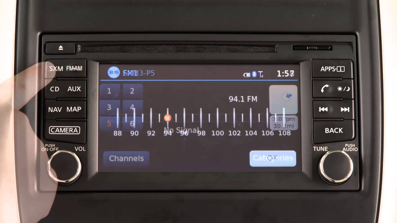 2015 NISSAN Sentra - Audio System with Navigation - YouTube