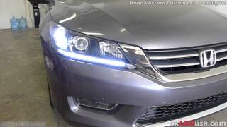 exLEDusa Honda Accord Custom LED Headlights