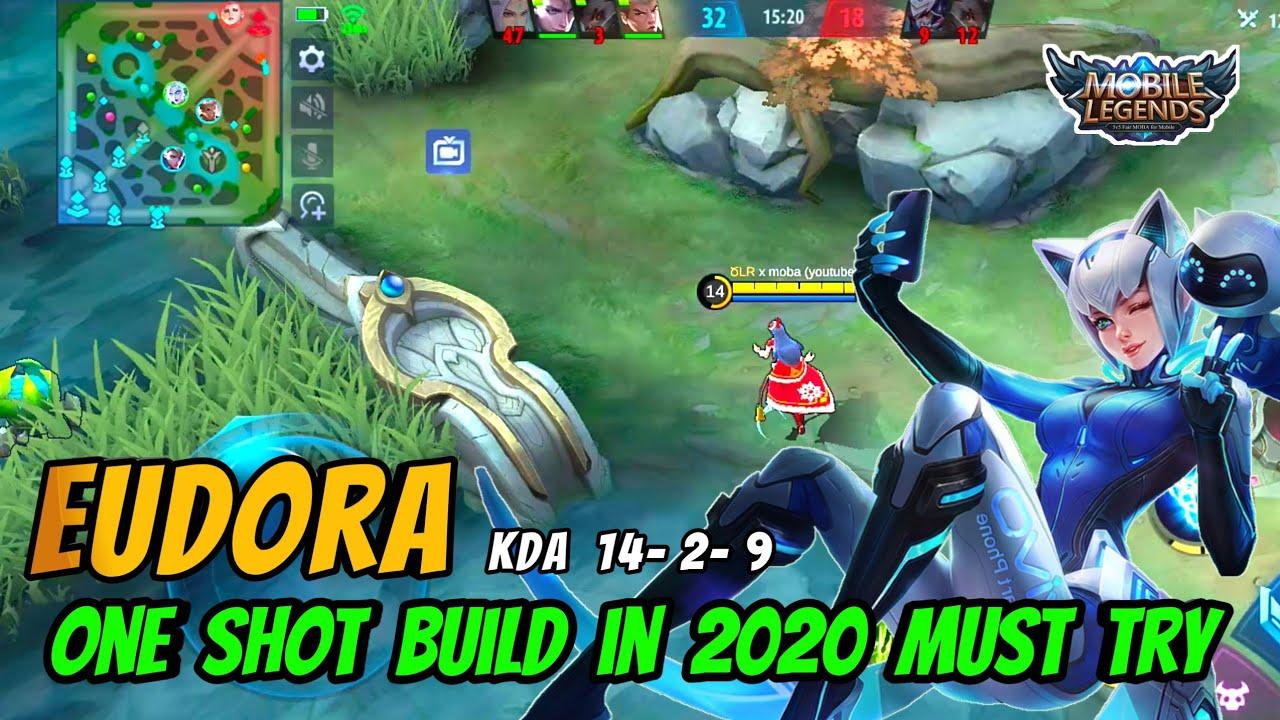 eudora one shot kill build (2020) | eudora insane magic