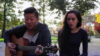 Drop The Game // Flume & Chet Faker  // Acoustic Cover Feat. Diandra Tolton